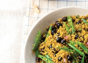Curried_Quinoa_with_Blueberries_and_Snap_Peas