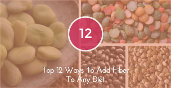 Top 12 Way To Add Fiber To Any Diet