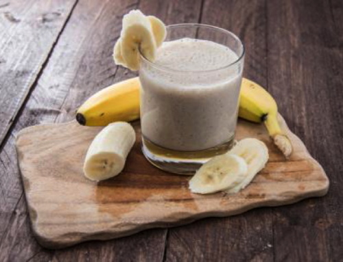 Fix Your Stomach With This Banana Ginger Smoothie